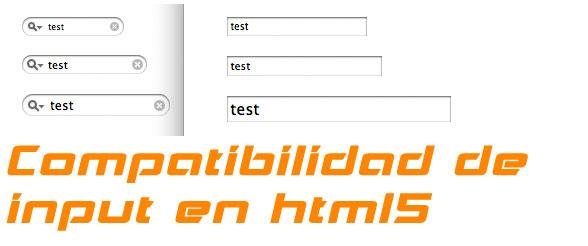 Como saber si el navegador soporta las nuevas etiquetas input y sus atributos