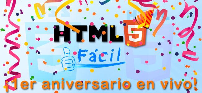 ¡Celebra con nosotros nuestro 1er aniversario en vivo!