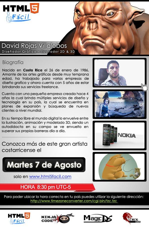 Evento ninjacode.tv: Conociendo el mundo 3D