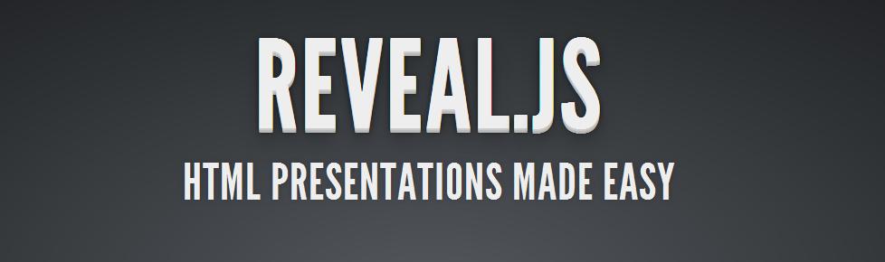 Crea geniales presentaciones con Reveal.js