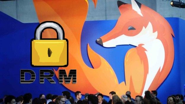 Mozilla se ve obligada a implementar DRM en Firefox