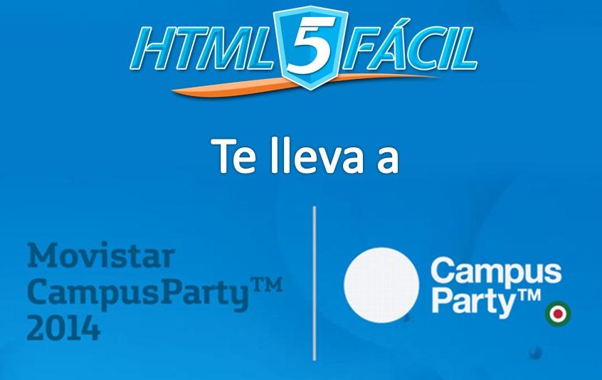 Gana una entrada con HTML5 Fácil para #CPMX5