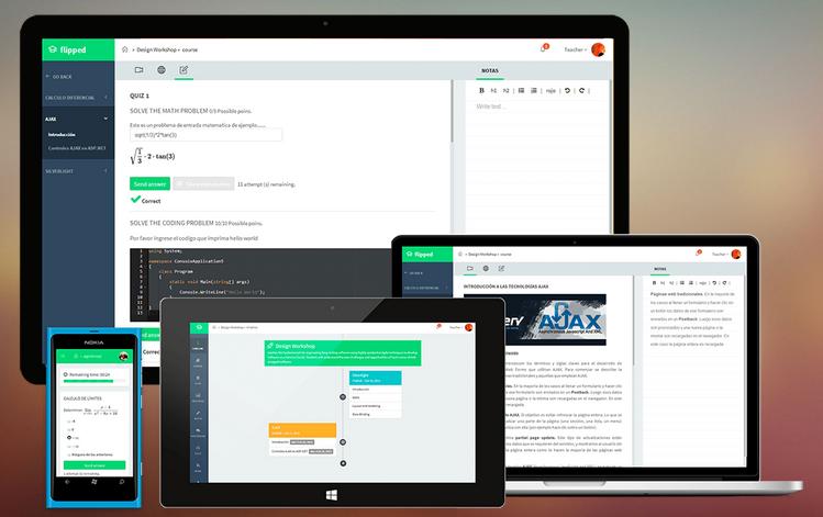 Crea cursos interactivos con Flipped