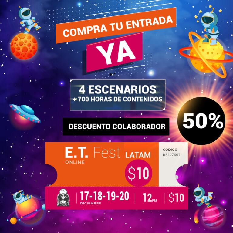 E.T. FEST 1ª EDICIÓN